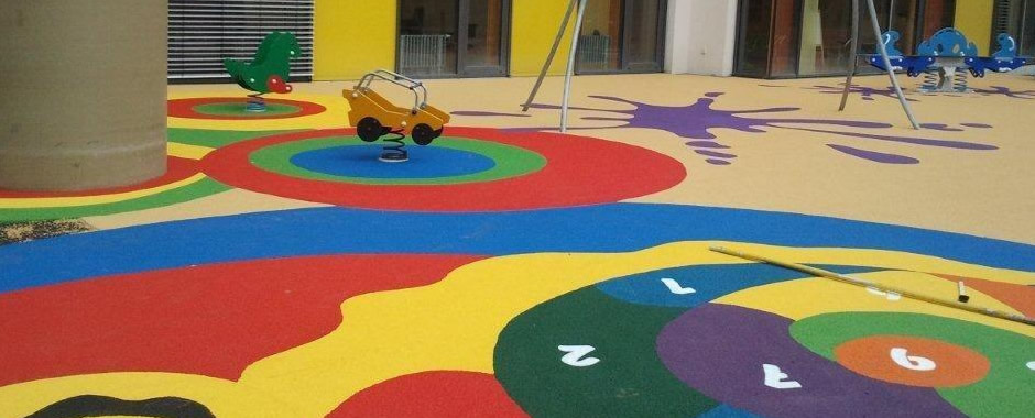 epdm rubber flooring in delhi