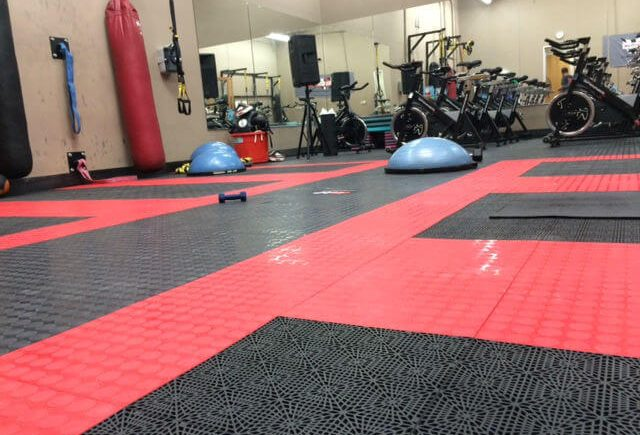 gym flooring in delhi